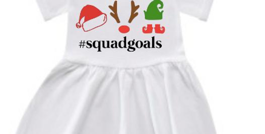 Squad goals dress