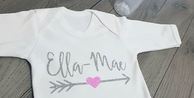 Heart & Arrow Babygrow