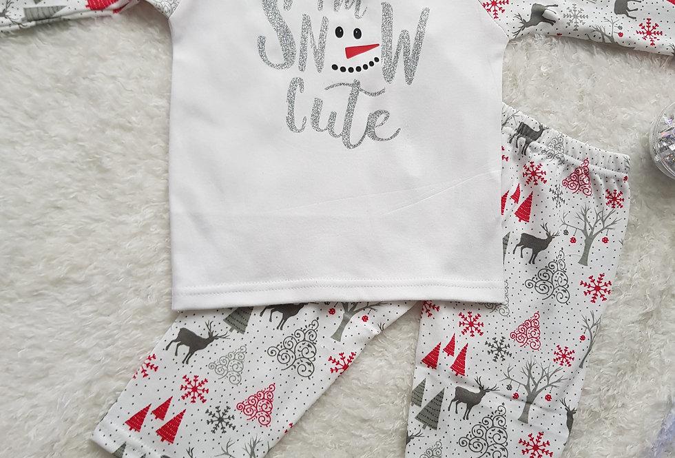 I'm snow cute pjs