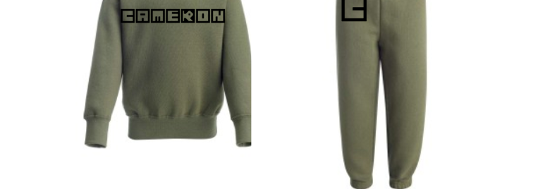 Blocked Initial Tracksuit (6m-6yrs)