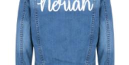 Personalised Denim Jacket 3m-13yrs (GIRLS)