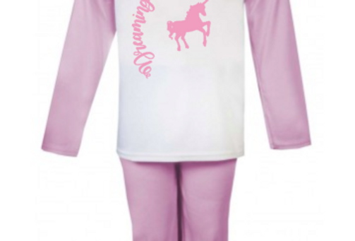 Dreaming of unicorns pjs