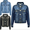 Thumbnail: Initial Denim Jacket 3m-13yrs (GIRLS)