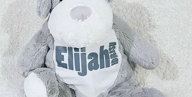 Personalised teddy backpack