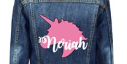 Unicorn Denim Jacket 3m-13yrs (GIRLS)