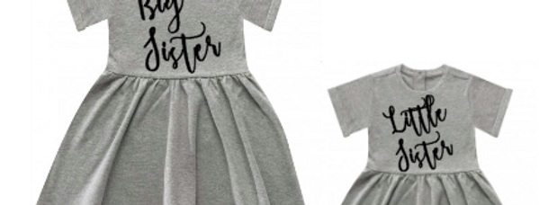 Big sister Little sister summer dresses