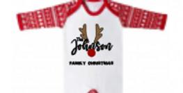 "The ""Johnson's"" Christmas baby grow"