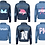 Thumbnail: Personalised Denim Jacket 3yrs-13yrs (GIRLS)
