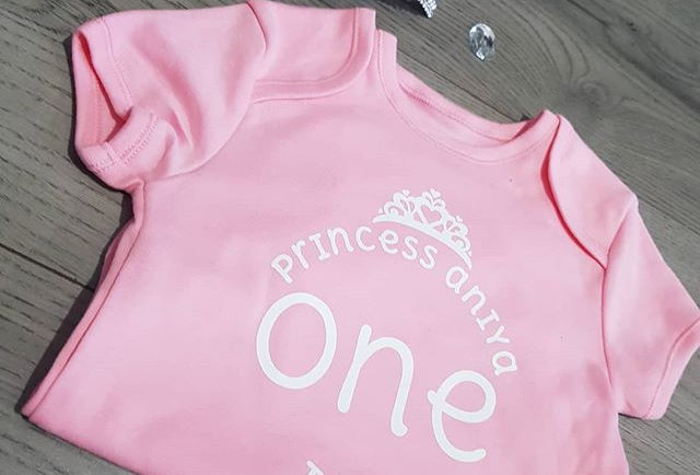 Princess Birthday Vest