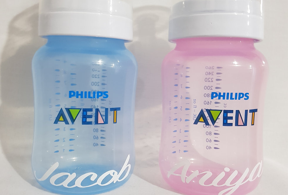 Personalised Avent Baby Bottle
