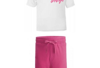 Signature (girl) shorts set