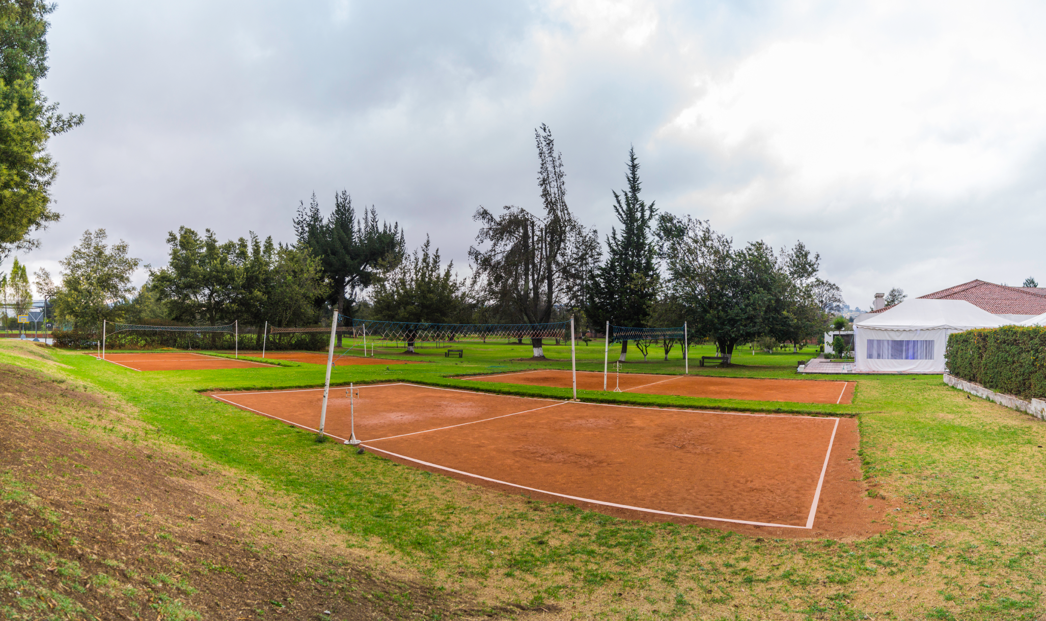 Canchas de Volley