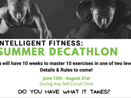 IF Summer Decathlon Rules & Regulations