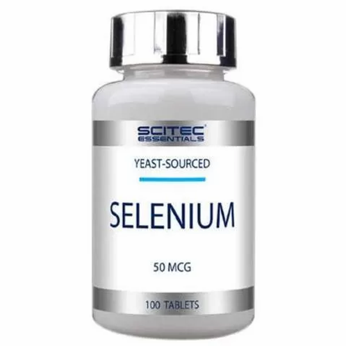 Scitec Nutrition Selenium 50mcg селен 100таб