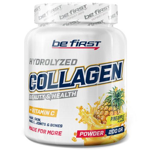 Be First Collagen powder + vitamin C 200г коллаген с витамином С