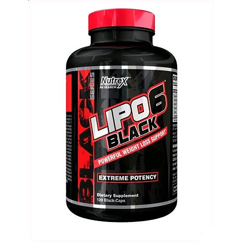 Lipo-6 Black Ultra Concentrate 120 капс