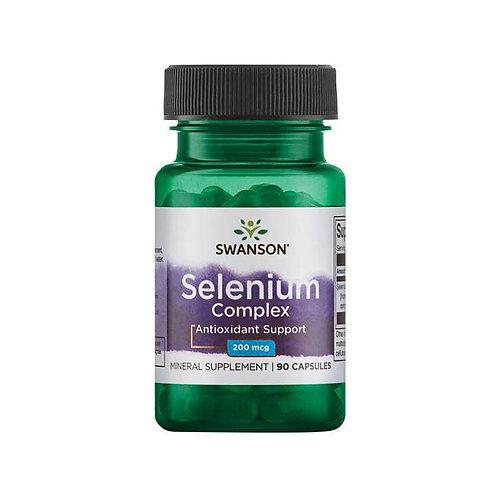 SWANSON Selenium Complex 200mcg селен 90таб