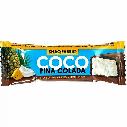 Snaq Fabriq 3 вкуса Батончик кокосовый в шоколаде 40гр