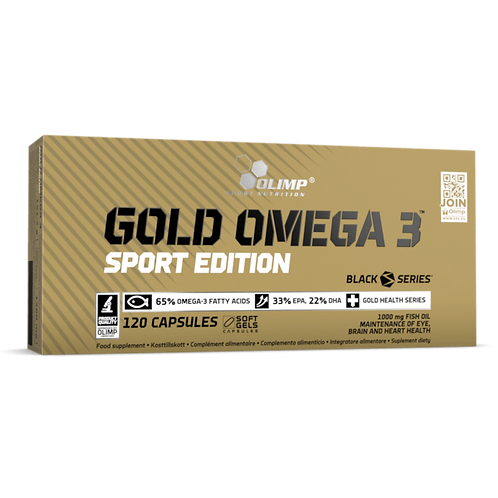 OLIMP Gold Omega-3 Sport Edition 120капс