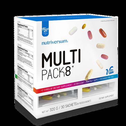 NUTRIVERSUM витамины Multi Pack8 320г 30пак