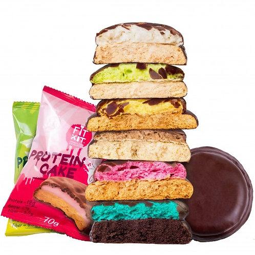 FITKIT Protein Cake 7 вкусов печенье 70г
