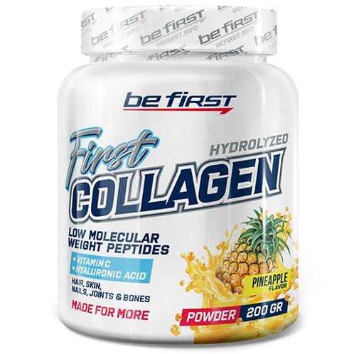 Be First  Коллаген с гиалуроновой кислотой и витамином С 200гр