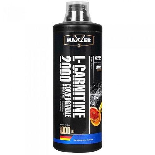 Maxler L-carnitine 2000 1000мл 3 вкуса
