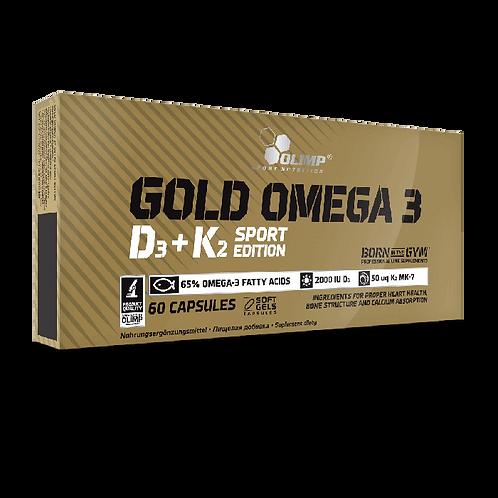 OLIMP Gold Omega-3 Sport Edition Д3+К2 60капс