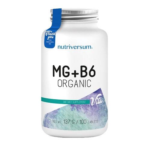 NUTRIVERSUM Mg+B6 organic магний+B6 100таб