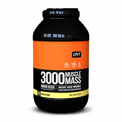 QNT Muscle mass 3000 гейнер 4500гр