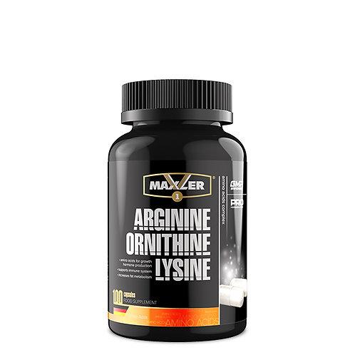 Maxler Arginine/Ornitine/Lysine 100капс