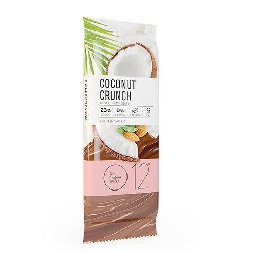 O12, 4 вкуса, вафельный батончик в молочном шоколаде, 50 гр,
