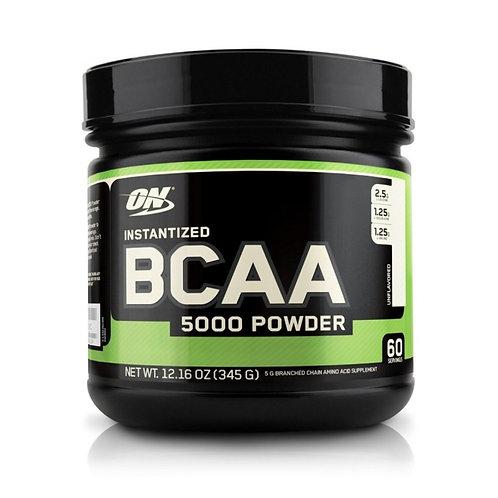 Optimum Nutrition BCAA 5000 Powder 2:1:1 380гр без вкуса