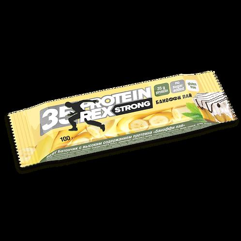 ProteinRex батончик «Баноффи пай» (35% протеина) 100гр