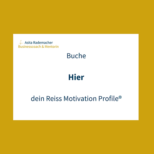 Dein Reiss Motivation Profile®