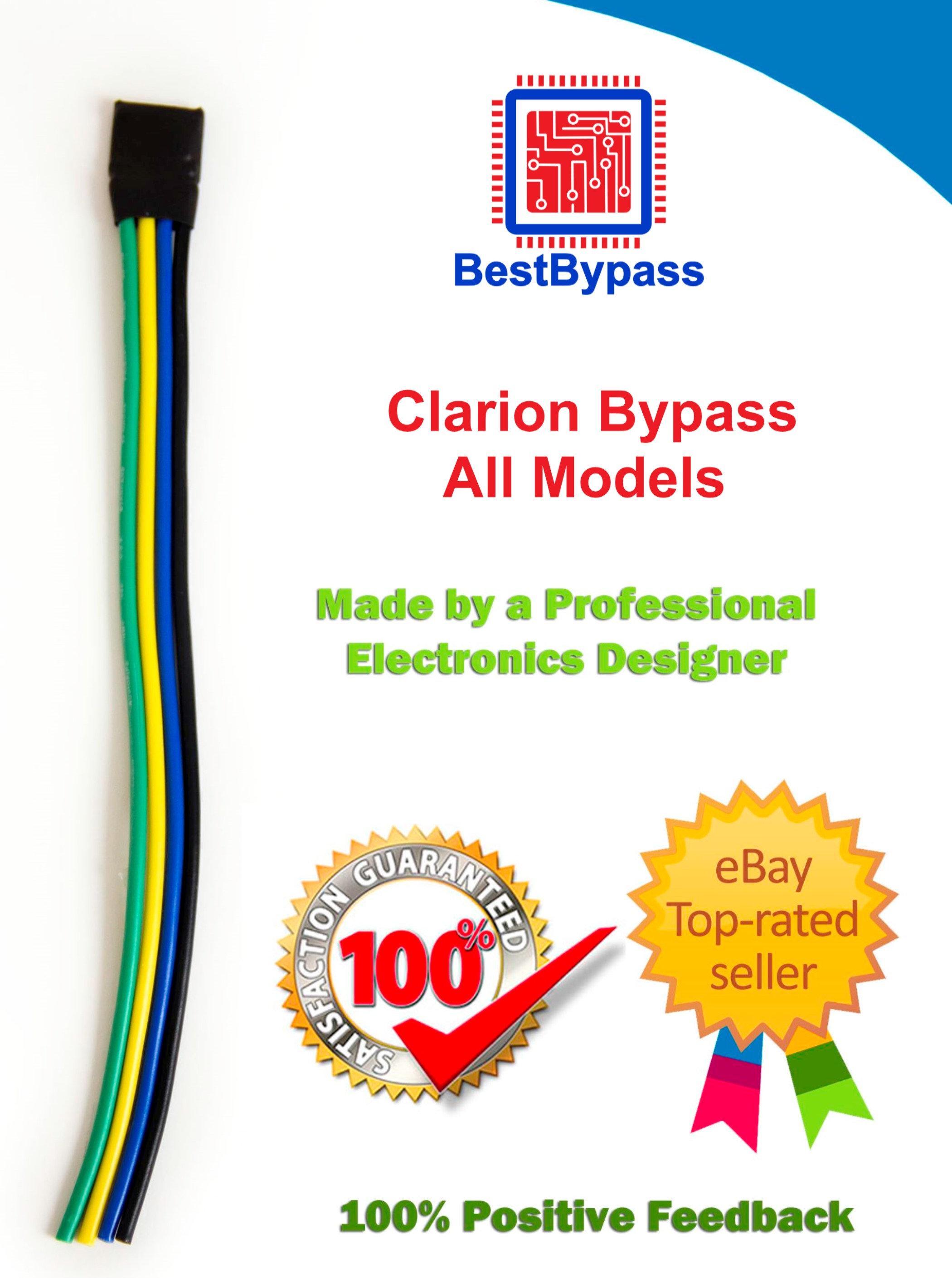 Clarion Bypass for All VX VZ Units