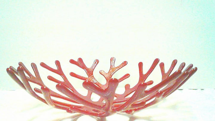 Red Coral Bowl