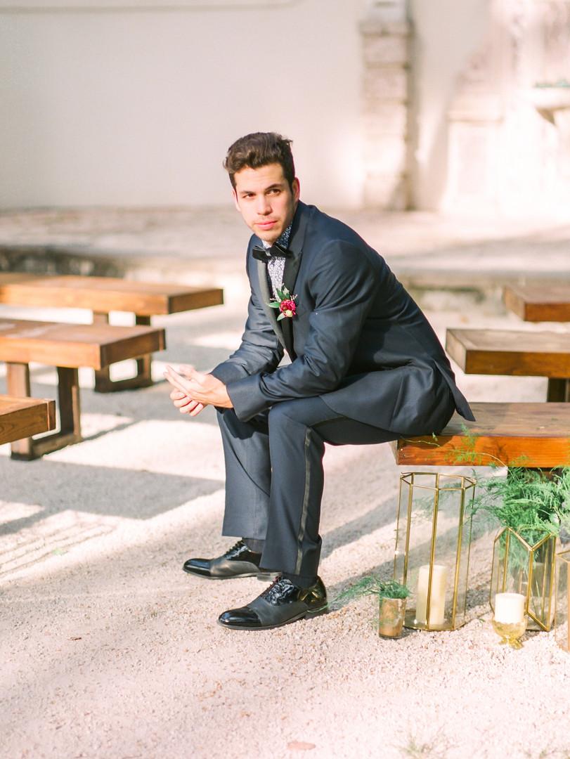 Wedding ceremony bench rental Miami