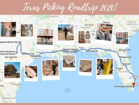 Texas picking road trip BTS + Midwest Mid-century collection reveal! (finally)