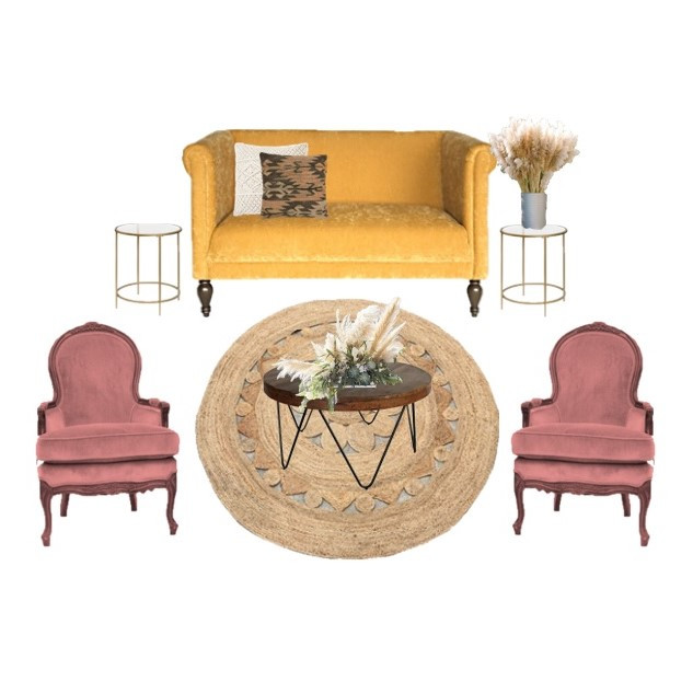 Miami Event and Wedding  Lounge Furniture  | Mi Vintage
