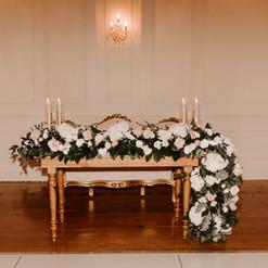 Miami Weddings, Club of Knights, Miami Farm tables
