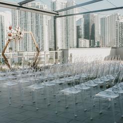 Penthouse Riverside Wharf, Event Rental Decor Miami, Miami Wedding Rentals