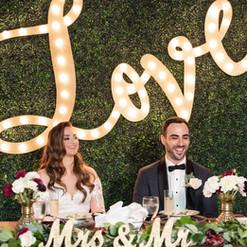 Miami Weddings, Club of Knights, Miami backdrops