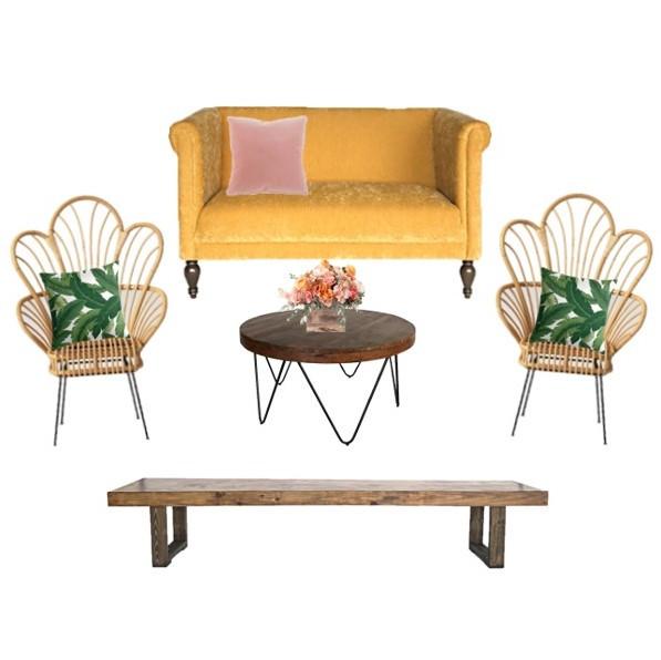 Miami Wedding Lounge Tropical Furniture,