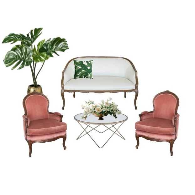 Miami Wedding Lounge Tropical Furniture| Mi Vintage