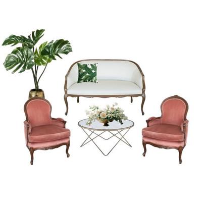 Miami Wedding Lounge Tropical Furniture| Mi Vintage