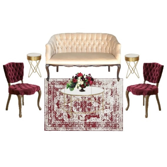 Miami Wedding Furniture Rentals | Mi Vintage