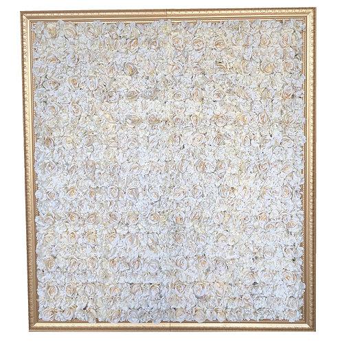 FLOWER backdrop (WHITE)