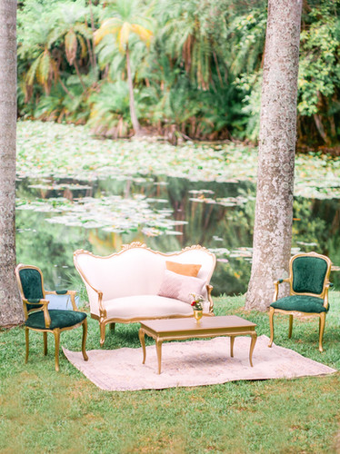 Event lounge furniture rental Miami