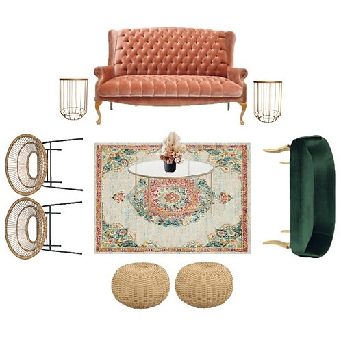 TRANQUILO Y TROPICAL lounge